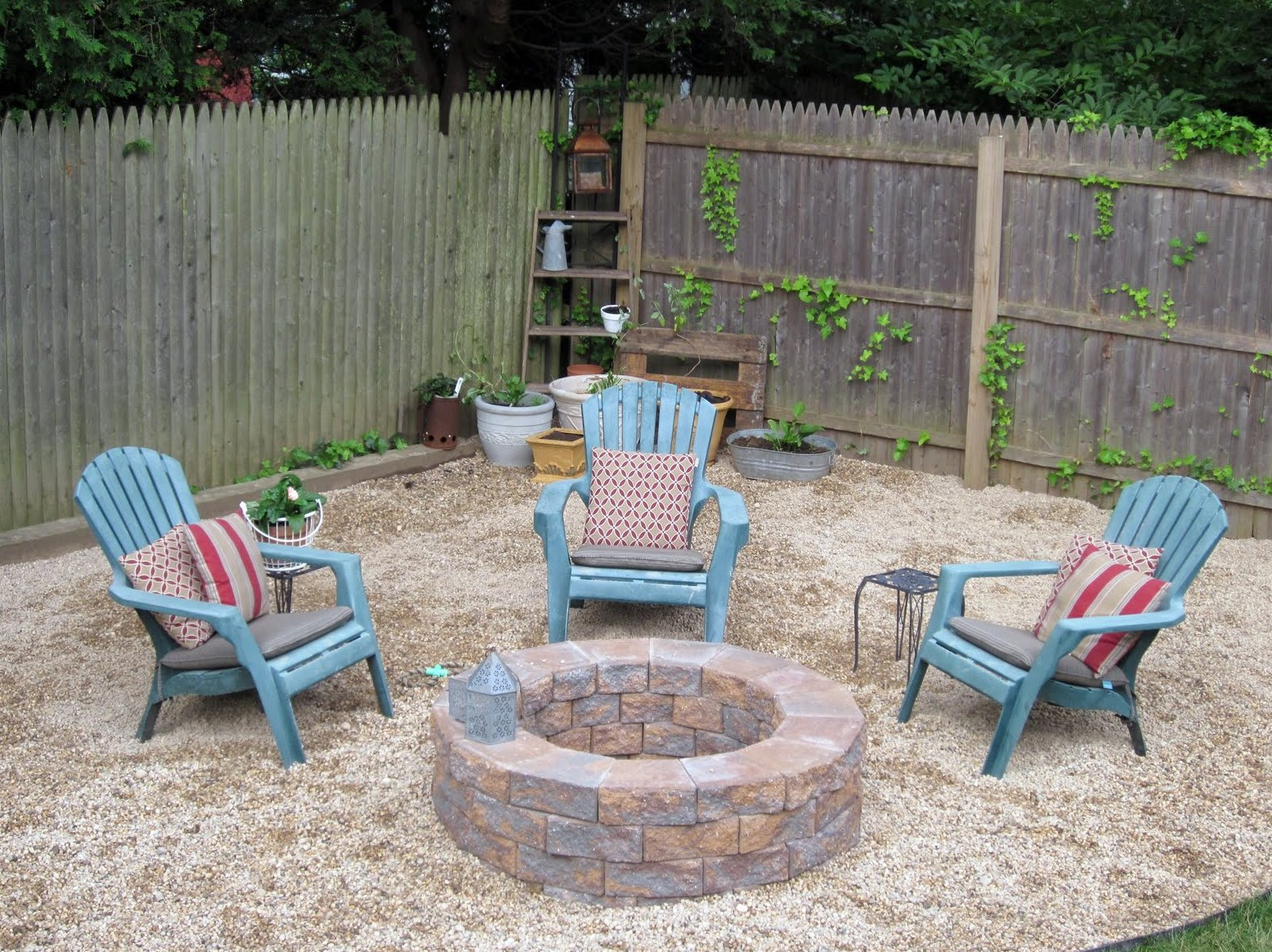 How To Build A Stone Fire Pit For Your Back Yard Frisco Sod Grass